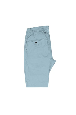 image of blue chino shorts