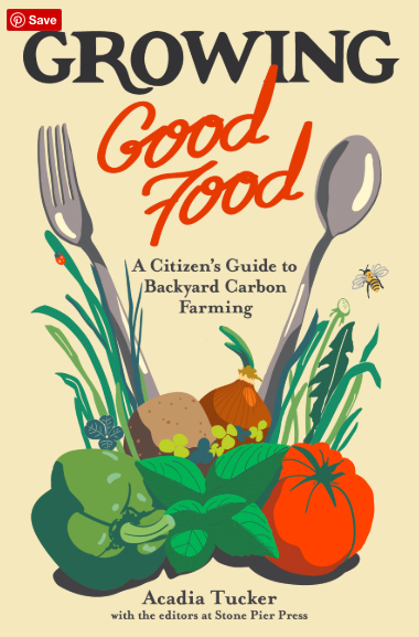 book cover: growing good food