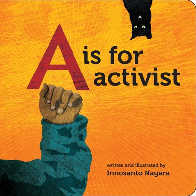 "cover of ""A is for Activist"" book"