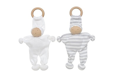 organic wooden teething toy