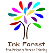 Ink Forest Eco-Friendly Screen Printing Logo