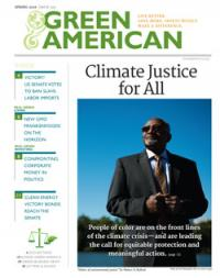 climate justice for all magazine cover