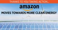amazon moves toward clean energy