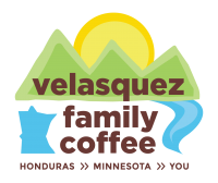 Velasquez Family Coffee Logo Honduras to Minnesota to You