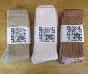 Organic Cotton Socks - Made in USA