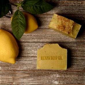 Lemon Scrub Bar