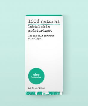 Cleo by Damiva - 100% Natural Labial Skin Moisturizer