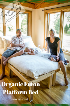 Organic Futon Bed and Bedframe