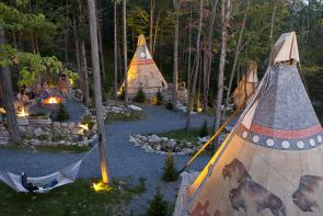Nomadics Tipi Makers - Tipi Village in NC