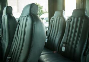 Widest, Most Comfortable Walk-in Tour Seats For All Day Comfort