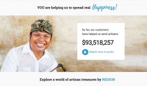 Over $90M sent to artisans to date.