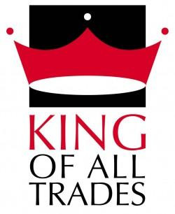 King of All Trades Design logo