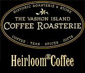 The Vashon Island Coffee Roasterie logo