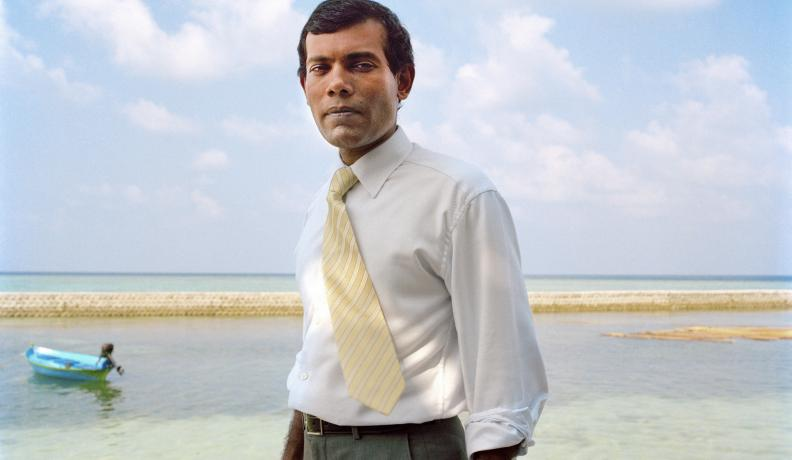 Mohamed Nasheed photo by Chiara Goia