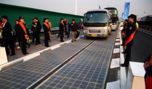 solar road in china