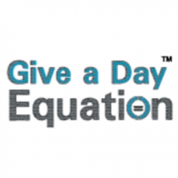 Give a Day Equation logo