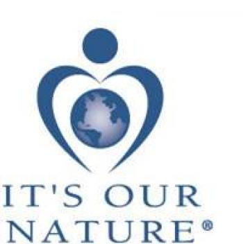 It's Our Nature Logo