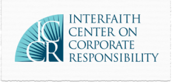 Interfaith Center on Corporate Responsibility (ICCR) logo