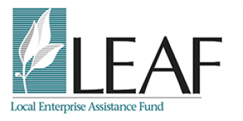 Local Enterprise Assistance Fund (LEAF) logo