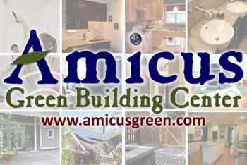 Amicus Green Building Center Logo