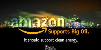 Amazon supports big oil